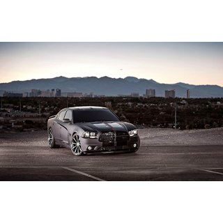 MYIMAGE Beautiful Cars Canvas Cloth Poster (Canvas Cloth Print, 31cm x 46 cm)
