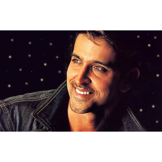 MYIMAGE Hrithik Roshan Digital Printing Canvas Cloth Poster (Canvas Cloth Print, 12x18 inch)