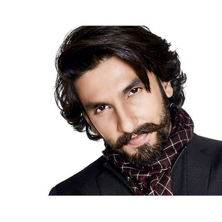 MYIMAGE Ranveer Singh Digital Printing Canvas Cloth Poster (Canvas Cloth Print, 12x18 inch)