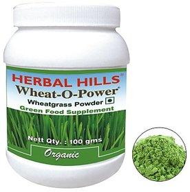 Herbal Hills Wheatgrass Powder - 100 gms (Buy 1 Get 1)
