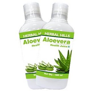 Natural Aloe Vera Juice - 500 ml (Combo)