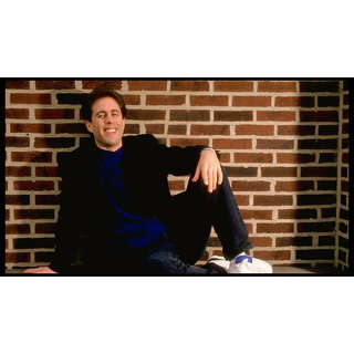 MYIMAGE Hollywood Star Jerry Seinfeld Digital Printing Canvas Cloth Poster (Canvas Cloth Print, 12x18 inch)
