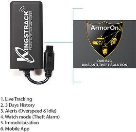 Kingstrack Armoron  Gps With Antitheft System
