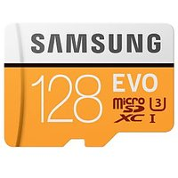 Samsung 128 GB Evo Memory Card Read Speed Up To 100 Mpb