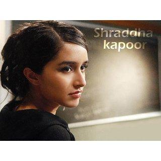 MYIMAGE Beautiful Sharddha Kapoor Digital Printing Canvas Cloth Poster (Canvas Cloth Print, 12x18 inch)
