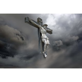 MYIMAGE Lord Jesus Christ Beautiful Canvas Cloth Poster (Canvas Cloth Print, 12x18 inch)