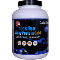 Dhn  Iso Whey Protein Gold 2 Kg (Chocolate) With Free D