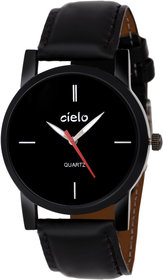 Cielo Black Dial Analog watch for mens