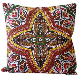 Cotton Handcrafted Cushion Cover Set of 5