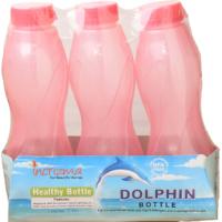 Incrizma - Dolphin Bottle - 3 Set Water Bottles - Each 1000ml - BPA Free - 5113976