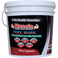 Dhn Muscle Fuel Mass 5Kg (Vanilla) With Free Dhn Metabo