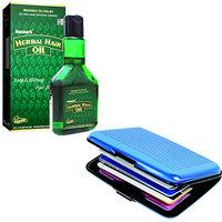Deemark Card Holder As Freebiewith  Herbal Hair Oil