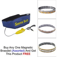 Deemark AB SLIMMER SAUNA BELT As Freebie With Brasclet(
