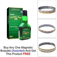 Deemark Herbal Hair Oil As Freebie With Brasclet(Assort
