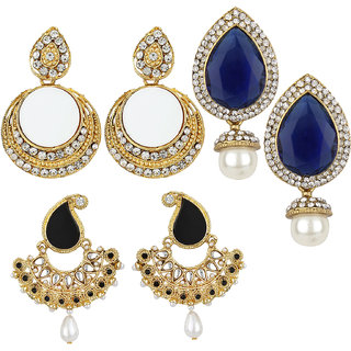 Jewels Capital Exclusive Combo 3 Earrings. 29 6 17 m23