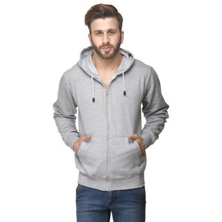 Van Galis Fashion Wear Regular Fit Gry Sweatshirts For Mens