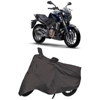 De Autocare Premium Quality Grey Matty Two Wheeler Bike Body Cover For Bajaj Dominar 400