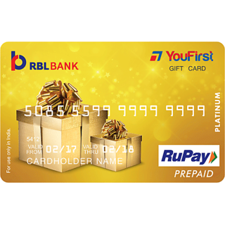 YouFirst RBL Gift Card (Rs 10000)