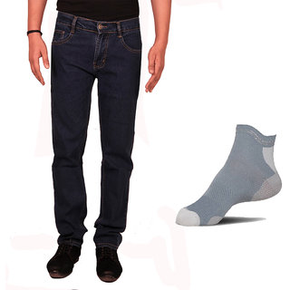 VAN GALIS FASHION WEAR Blue jeans and Socks FOR MENS