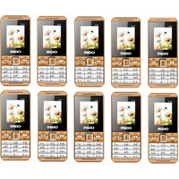 Combo Of 10 Mido M99 Dual Sim Phone With Auto Call Reco