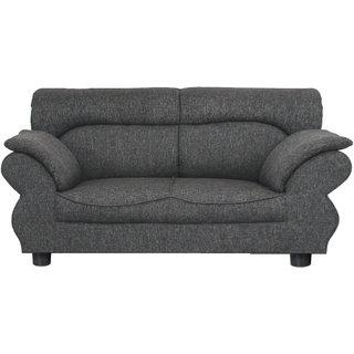 Gioteak Kingdom 2 seater sofa set in dark grey color with attractive design