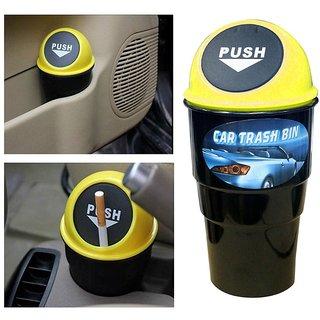 Car dustbin multipurpose (RANDOM COLOR)