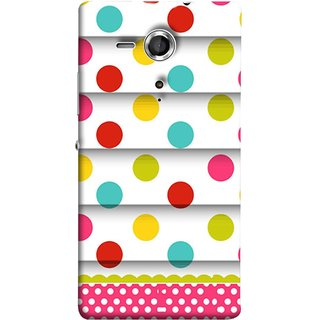 FUSON Designer Back Case Cover for Sony Xperia SP :: Sony Xperia SP HSPA C5302 :: Sony Xperia SP LTE C5303 :: Sony Xperia SP LTE C5306 (Loopable Background With Nice Glowing Spectrum)