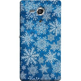 FUSON Designer Back Case Cover for Sony Xperia SP :: Sony Xperia SP HSPA C5302 :: Sony Xperia SP LTE C5303 :: Sony Xperia SP LTE C5306 (Different Size Winter Snow Enjoying Pattern World)