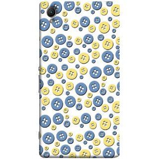 FUSON Designer Back Case Cover for Sony Xperia XA :: Sony Xperia XA Dual (Background Cloths Textile Small Medium Large Size )