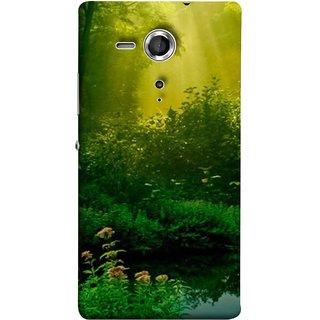 FUSON Designer Back Case Cover for Sony Xperia SP :: Sony Xperia SP HSPA C5302 :: Sony Xperia SP LTE C5303 :: Sony Xperia SP LTE C5306 (Tropical And Subtropical Coniferous Forests Wallpaper)