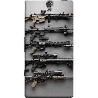 FUSON Designer Back Case Cover for Sony Xperia SL :: Sony Xperia S :: Sony Xperia SL LT26I LT26ii (Rounds Ammunition Bullets Guns Aurora Murders)
