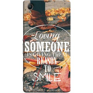FUSON Designer Back Case Cover for Sony Xperia X :: Sony Xperia X Dual F5122 (Lovely Bottom Of My Heart Smile Happy Key )