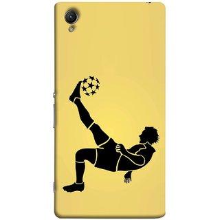 FUSON Designer Back Case Cover for Sony Xperia XA :: Sony Xperia XA Dual (Uefa Champions League Starball Player Fifa )