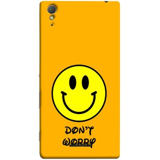 FUSON Designer Back Case Cover for Sony Xperia T3 (Big Smiling Baby Smiley Be Happy Never Worry)