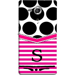 FUSON Designer Back Case Cover for Sony Xperia SP :: Sony Xperia SP HSPA C5302 :: Sony Xperia SP LTE C5303 :: Sony Xperia SP LTE C5306 (Beautiful Cute Nice Couples Pink Design Paper Girly S)