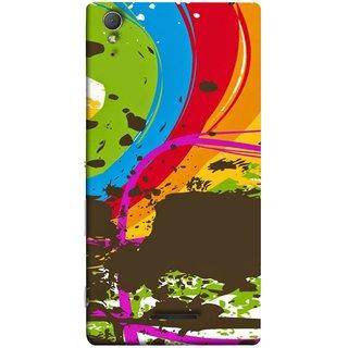 FUSON Designer Back Case Cover for Sony Xperia T3 (Forest Nature Whimsical Fantasy Fine Art Spots)