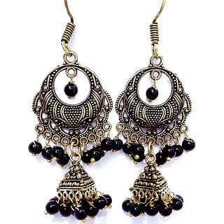 Earrings in Jhumki Style