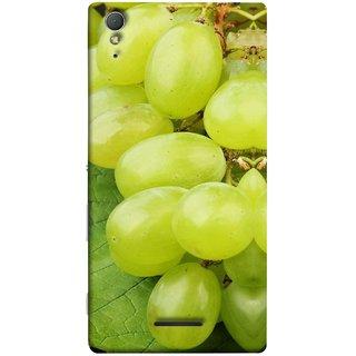 FUSON Designer Back Case Cover for Sony Xperia T3 (Nature Farm Wine Organic Farm Agriculture Autumn )