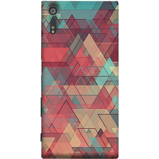 FUSON Designer Back Case Cover for Sony Xperia XR (Hexagonal Shape Abstract Pattern Geometric Shapes )