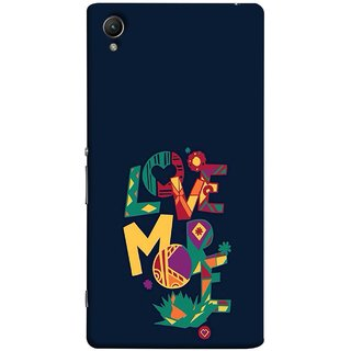 FUSON Designer Back Case Cover for Sony Xperia XA :: Sony Xperia XA Dual (I Love You Always Lovers Valentine Hearts Kiss )