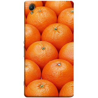 FUSON Designer Back Case Cover for Sony Xperia XA :: Sony Xperia XA Dual (Countryside Scent Of Orange Blossoms Citrun )