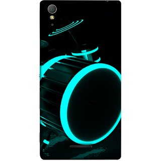 FUSON Designer Back Case Cover for Sony Xperia T3 (Lighted Drums Led Light Up Drum Set Drum Lights )