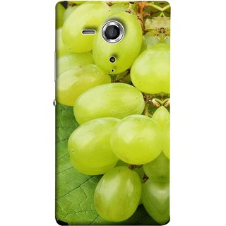 FUSON Designer Back Case Cover for Sony Xperia SP :: Sony Xperia SP HSPA C5302 :: Sony Xperia SP LTE C5303 :: Sony Xperia SP LTE C5306 (Nature Farm Wine Organic Farm Agriculture Autumn )