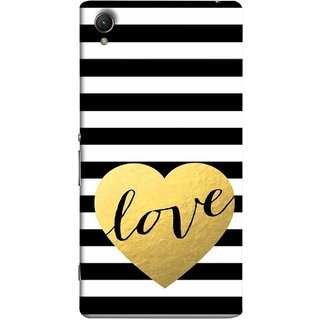 FUSON Designer Back Case Cover for Sony Xperia X :: Sony Xperia X Dual F5122 (Hearts Lovely Girls True Love Dark Font)