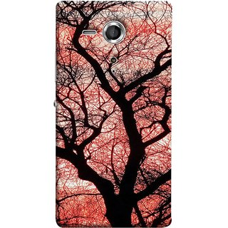 FUSON Designer Back Case Cover for Sony Xperia SP :: Sony Xperia SP HSPA C5302 :: Sony Xperia SP LTE C5303 :: Sony Xperia SP LTE C5306 (Trees Gardens Big Old Jungle Branches Birds Singing)