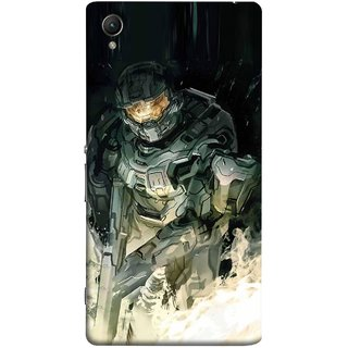 FUSON Designer Back Case Cover for Sony Xperia XA :: Sony Xperia XA Dual (Army War Secret Missions Country Saver Fighter)