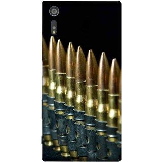 FUSON Designer Back Case Cover for Sony Xperia XR (Gun Control Aurora Rounds Ammunition Bullets Guns Ammo)