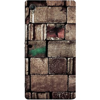 FUSON Designer Back Case Cover for Sony Xperia X :: Sony Xperia X Dual F5122 (Irregular Shapes Ancient Different Sizes Wallpaper)