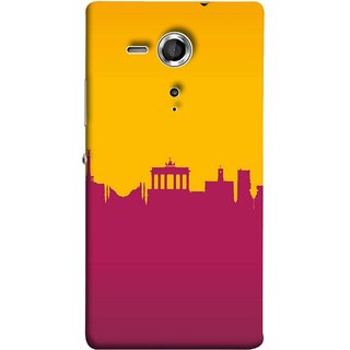 FUSON Designer Back Case Cover for Sony Xperia SP :: Sony Xperia SP HSPA C5302 :: Sony Xperia SP LTE C5303 :: Sony Xperia SP LTE C5306 (Astounding Skyscrapers Of Remarkable Architectural)