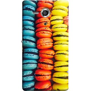 FUSON Designer Back Case Cover for Sony Xperia SP :: Sony Xperia SP HSPA C5302 :: Sony Xperia SP LTE C5303 :: Sony Xperia SP LTE C5306 (Homemade Veggie Burgers With Sweet Potato )